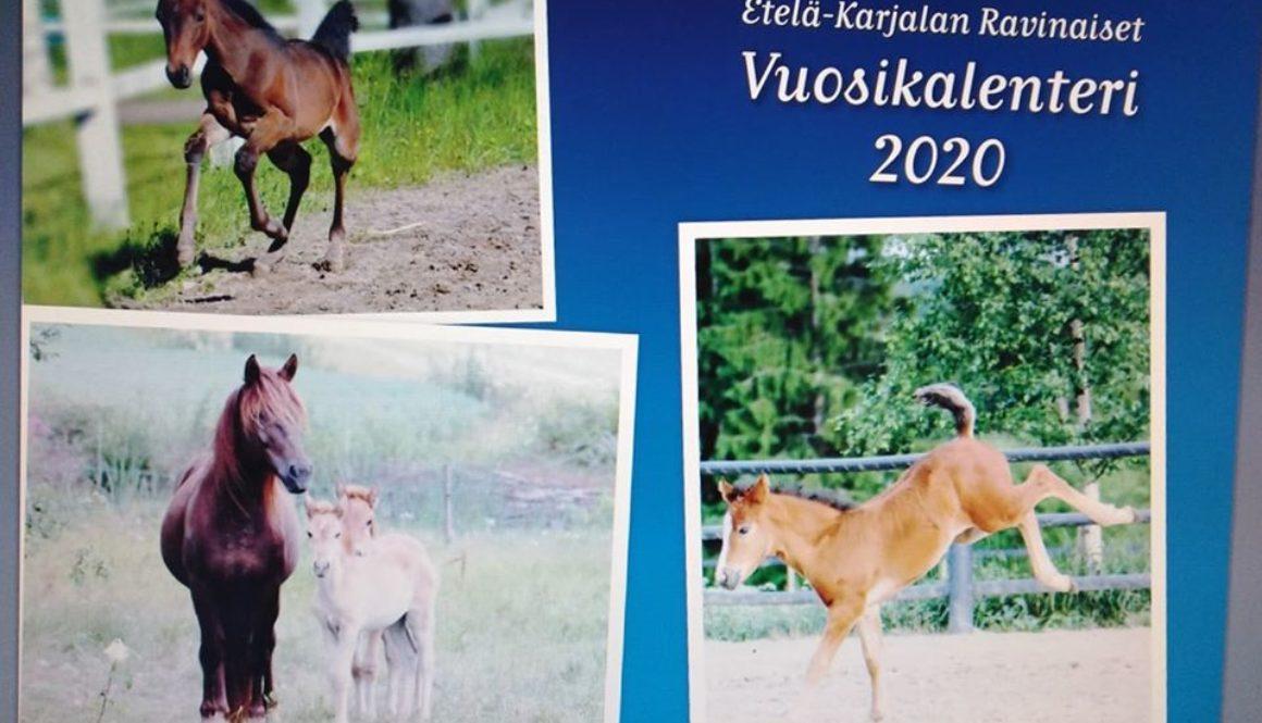 Ravinaisten kalenteri 2020